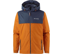 Regenjacke 'Jones Ridge' navy / orange
