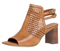 Sandalette ocker