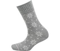 Socken grau / graumeliert