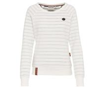 Sweatshirt beige / pastellblau