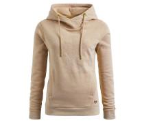 Sweatshirt 'greta With Print' hellbeige
