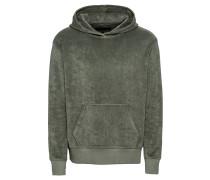 Sweatshirt 'toni' grau / khaki