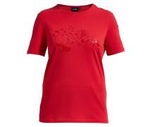 T-Shirt Sophia mit Blumen-Print rot