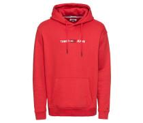 Sweatshirt marine / rot / weiß