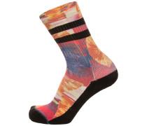 Socken 'Side Step' mischfarben / schwarz
