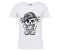 T-Shirt 'Joketa' weiß