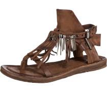 Klassische Sandalen braun