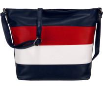 Tasche 'Debbie' navy / rot / weiß