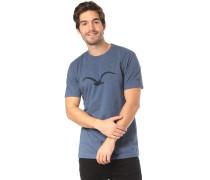 Mowe T-Shirt rauchblau / dunkelgrau