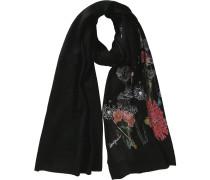 Schal mischfarben / schwarz