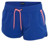 Shorts 'gosina' blau / pfirsich