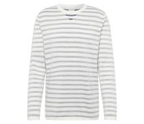 Shirt 'jcobullhead' dunkelgrau / weiß