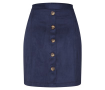 Rock 'dfake Suede Skirt' navy