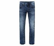 Jeans 'ni:co' dunkelblau