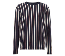 Pullover 'jorsteve' dunkelblau / weiß