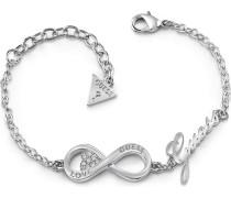 Armband 'Endless Love' silber