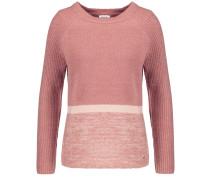 Pullover mit Colour-Blocking altrosa
