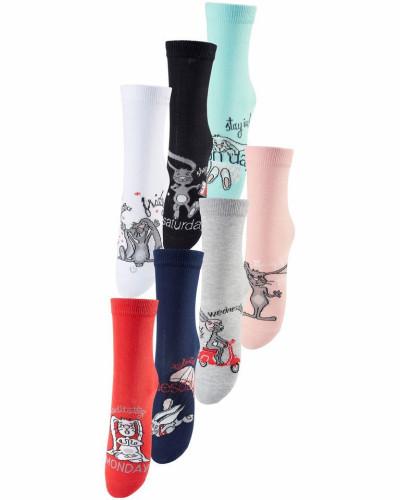 Socken (7 Paar)