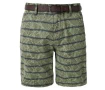 Shorts 'Plek' oliv