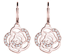Ohrringe 'Blume Rose' rosegold