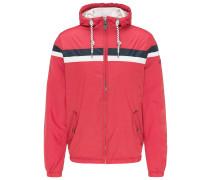 Jacke ultramarinblau / rot / weiß