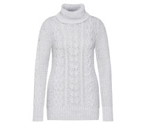 Pullover 'SH Cable Tneck' hellgrau