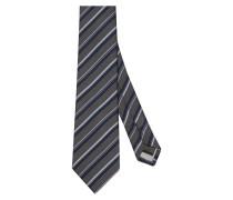 Krawatte ' Custom Fit ' dunkelgrau