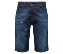 Jeans 'thoshort' blue denim