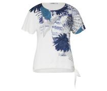 Shirt 'ts_Wichitas' blau / weiß