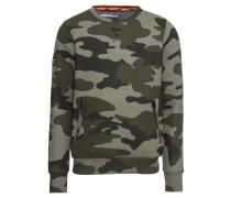 Sweatshirt 'orange Label Urban Crew' grün