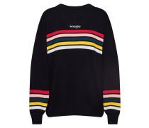 Pullover 'rainbow Knit' schwarz