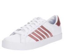 Sneaker Low 'Belmont' rosé / weiß