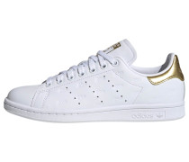 Schuh 'Stan Smith' weiß / gold