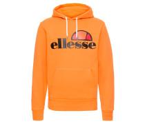 Hoodie 'gottero' dunkelblau / orange