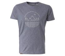 T-Shirt '#Leavenothingbutfootprints'