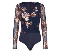 Bluse 'Sequin Wrap Bodysuit'