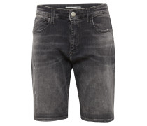 Jeans Shorts 'brian' grey denim
