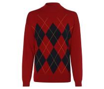 Pullover kobaltblau / gelb / rot