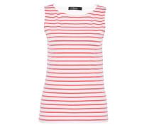 Basic-Ringeltop pink / weiß