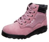 Boot 'Grunge II Mid' pink / schwarz