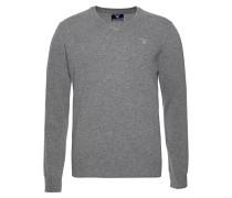 Pullover blau / dunkelgrau / hellrot / weiß