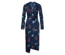 Kleid 'Elly' creme / nachtblau / hellblau