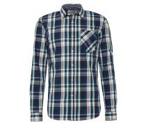 Hemd dunkelblau / mischfarben