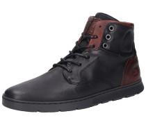 Sneakers kastanienbraun / schwarz