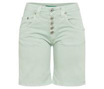 Jeans Shorts 'p88A' pastellgrün
