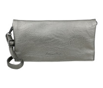 Clutch 'Ronja Saddle' silber