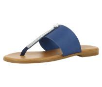 Sandale 'olimpia' blau / braun
