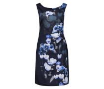 Kleid nachtblau / hellblau
