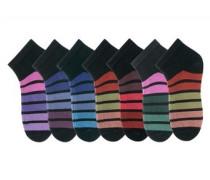 Füßlinge (7 Paar) mischfarben