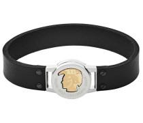 Armband gold / schwarz / silber